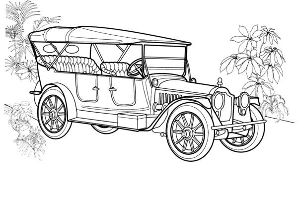 noodle car race kolorowanka wydruku Car Pictures stary samochod