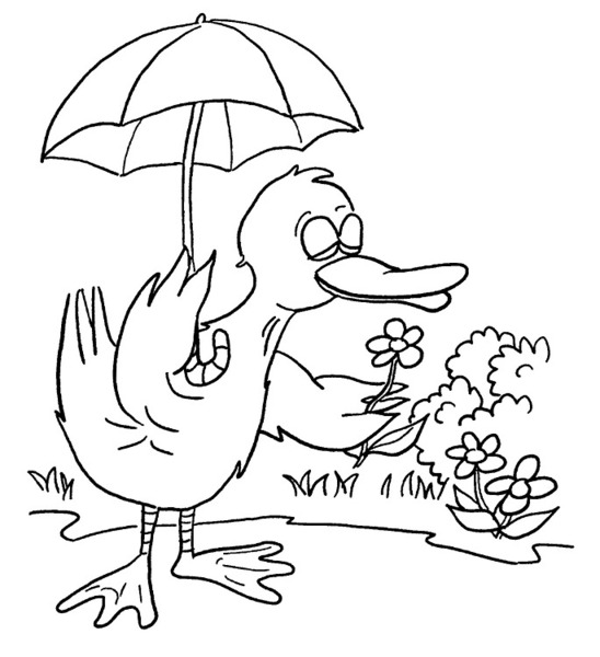 garden winter coloring pages - photo#22