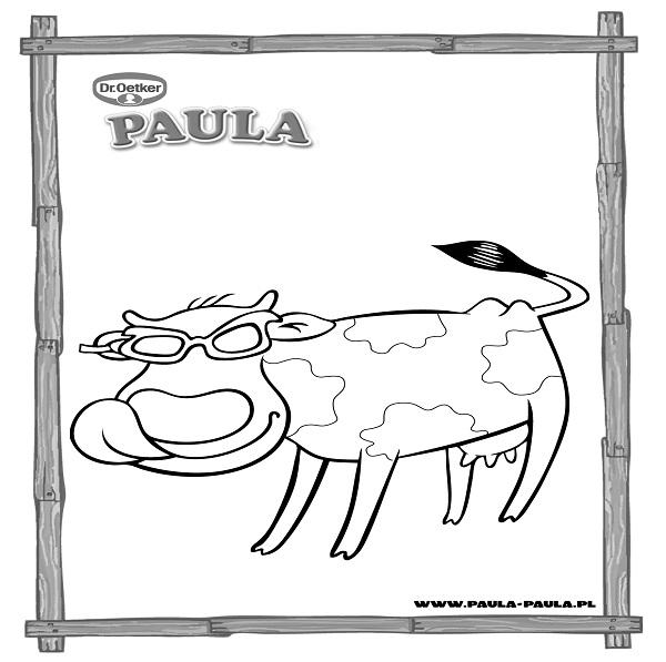 Paula w okularach