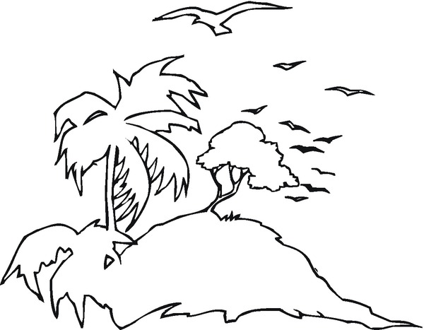 coloring pages caribbean islands - photo#17