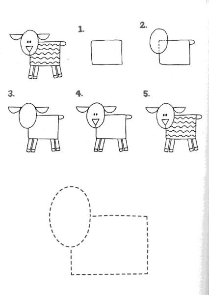 Owieczka krok po kroku