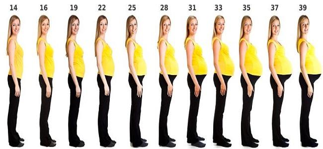 Dziewiąty tydzień ciąży