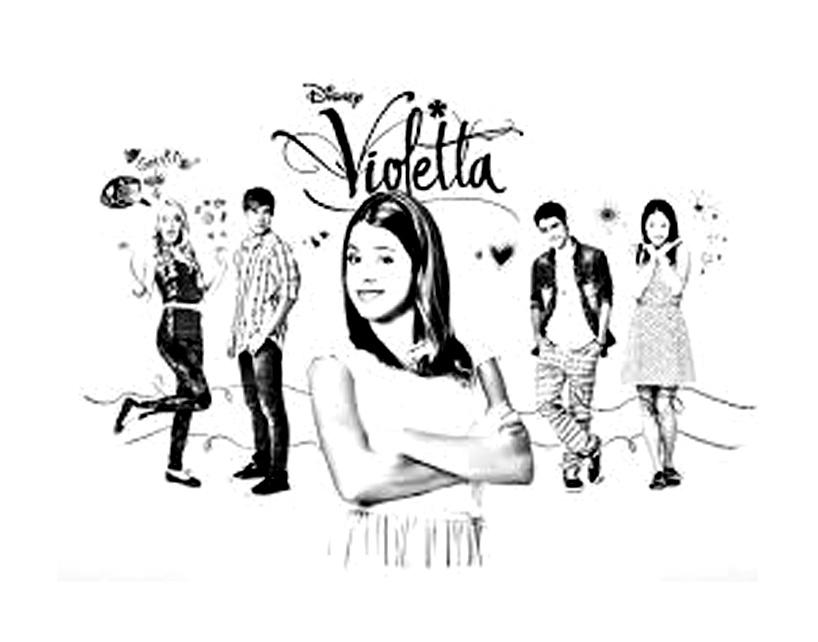 Malowanka Z Violetta Castillo Mamydzieci Pl