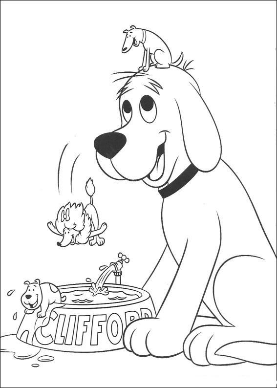 Kolorowanki psy i malowanki do druku for Kipper the dog coloring pages