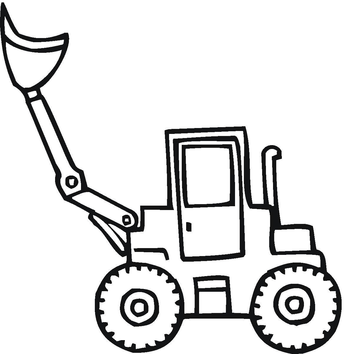 Traktor Pokoloruj Kolorowankę Mamydzieci Pl