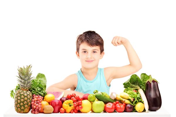 Dziecko nie je warzyw i owoców
