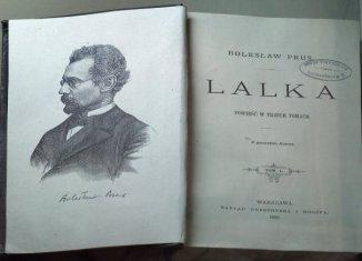 """Konsepkt lekcji języka polskiego ,,Lalka"""" Bolesława Prusa"""