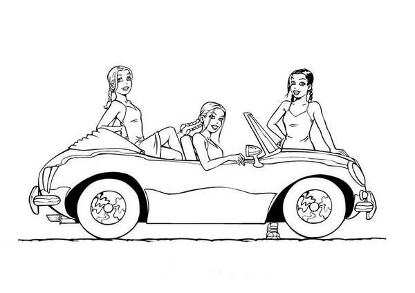 little cars coloring pages - photo#7