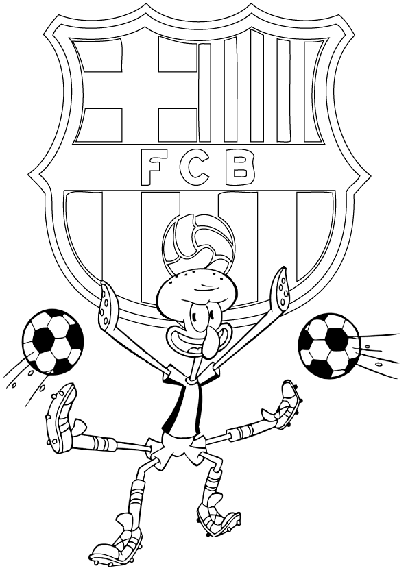 coloring pages barcelona fc fixtures - photo#20