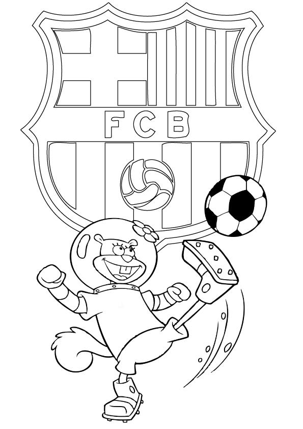 kleurplaat fc barcelona ausmalbilder fuballstadion 1164