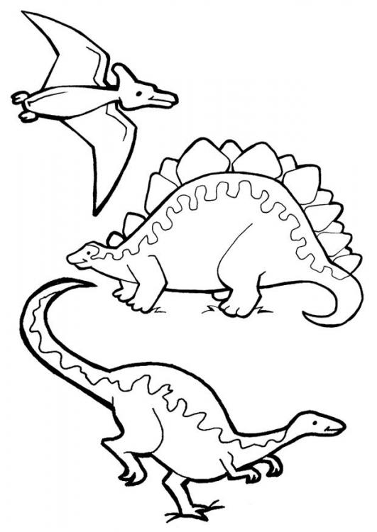 kolorowanki dinozaury z juraparku i malowanki do druku