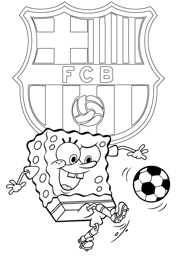 coloring pages barcelona fc tickets - photo#22