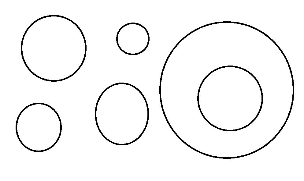 kolorowanka koło