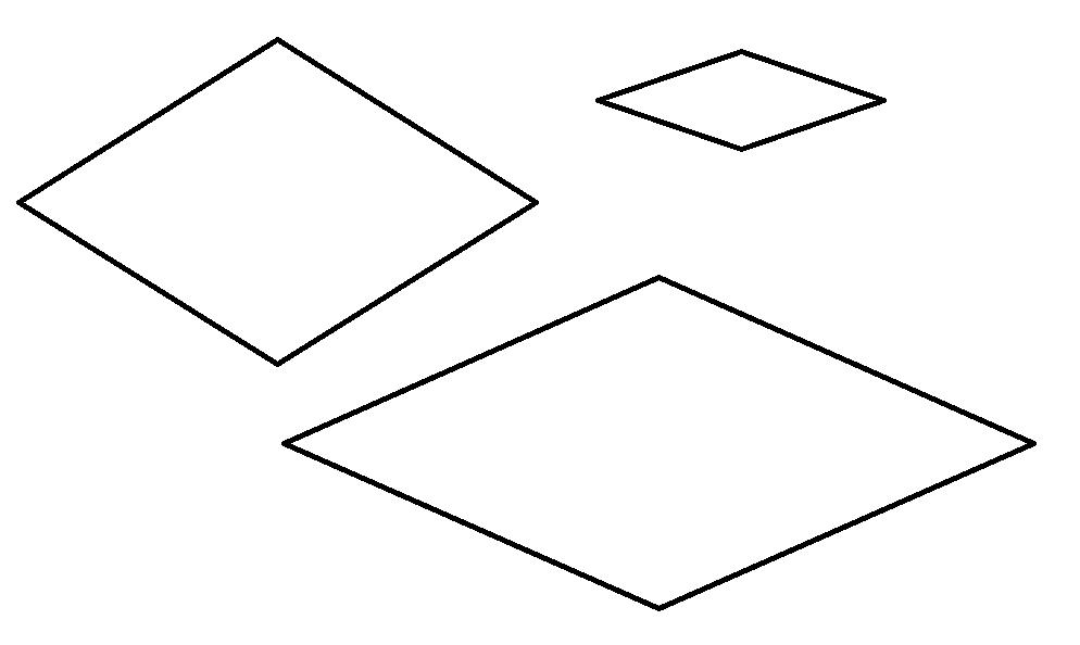 kolorowanka romby
